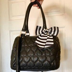 Betsey Johnson black handbag